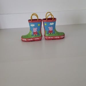 Peppa pig rain toddler 5 boots